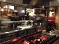La cuisine et son barbecue